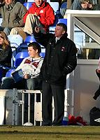 Photo: Dave Linney.<br />Shrewsbury Town v Leyton Orient. Coca Cola League 2. 04/03/2006Orient Mgr .Martin Ling