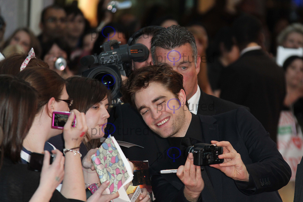 Robert Pattinson Water for Elephants UK Premiere, The Vue, Westfield, London, UK, 03 May 2011:  Contact: Rich@Piqtured.com +44(0)7941 079620 (Picture by Richard Goldschmidt)