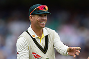 David Warner of Australia during the 5th International Test Match 2019 match between England and Australia at the Oval, London, United Kingdom on 12 September 2019.