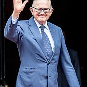 NLD/Amsterdam/20180424 - koning en koningin bieden Corps Diplomatique diner aan, Pieter van Vollenhoven