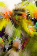Crow Fancy Dancer, Crow Fair powwow, Crow Indian Reservation, Montana.