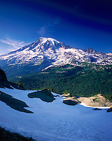 Mount Rainier 14,411¬?ft (4,392¬?m), Mount Rainier National Park Washington USA