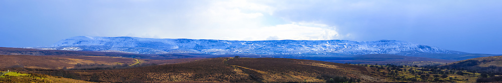 Cuilcagh Mountain viewed from nearby Marlbank viewpoint