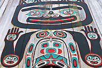 Exterior, Chief Shakes Tribal House, Wrangell, Southeast Alaska USA