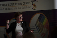 Sr Helen Diviney  at a reception in the Galway education centre. Photo:Andrew Downes XPOSURE .