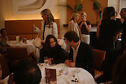 Angharad Wood. Lunch party for Brooke Shields hosted by charles finch and Patrick Cox. Mortons. Berkeley Sq. 6 July 2005. ONE TIME USE ONLY - DO NOT ARCHIVE  © Copyright Photograph by Dafydd Jones 66 Stockwell Park Rd. London SW9 0DA Tel 020 7733 0108 www.dafjones.com