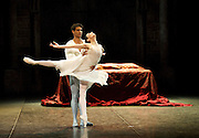 Romeo & Juliet <br /> English National Ballet <br /> at The Royal Albert Hall <br /> rehearsal <br /> 10th June 2014 <br /> <br /> Tamara Rojo as Juliet <br /> Carlos Acosta as Romeo <br /> and <br /> Daria Klimentová as Juliet <br /> Vadim Muntagirov as Romeo <br /> <br /> plus<br /> <br /> Yonah Acosta as Mercutio <br /> Fabian Remair as Tybalt<br /> Junor Souza as Benvolio<br /> Daniele Silingardi as Paris<br /> Jane Haworth as Lady Capulet<br /> James Streeter as Lord Capulet<br /> Tamarin Stott as Nurse<br /> Stina Quagebeur as Lady Montague<br /> Daniel Kraus as Lord Montague<br /> Luke Heydon as Friar <br /> Begona Cao as Rosaline<br /> Michael Coleman as Prince of Verona <br /> Lauretta Summerscales<br /> Nancy Osbaldeston<br /> Ksenia Ovsyanick<br /> Adela Ramirez<br /> Max Westwell<br /> Joshua McSherry-Gray<br /> (not all are pictured in this current gallery)<br /> <br /> Photograph by Elliott Franks