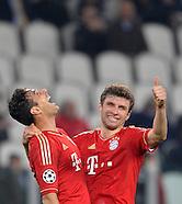 Fussball Champions League 2012/13: Juventus Turin - FC Bayern Muenchen