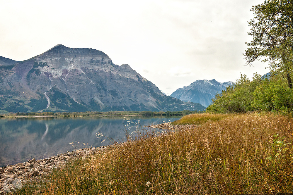 Waterton National Park; Waterton Provincial Park; Lower Waterton Lake
