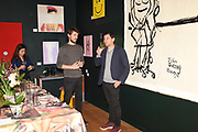 JAMES BAILEY, JASON WHITELEY, , Evening preview of House of Voltaire.  A pop-up store selling artworks. homewares and limited edition prints. 31 Cork st. London W1S 3NU. 25 September 2019