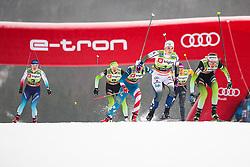 Ana Marija Lampic (SLO) and Hagstroem Johanna (SWE) during the Ladies sprint free race at FIS Cross Country World Cup Planica 2019, on December 21, 2019 at Planica, Slovenia. Photo By Grega Valancic / Sportida