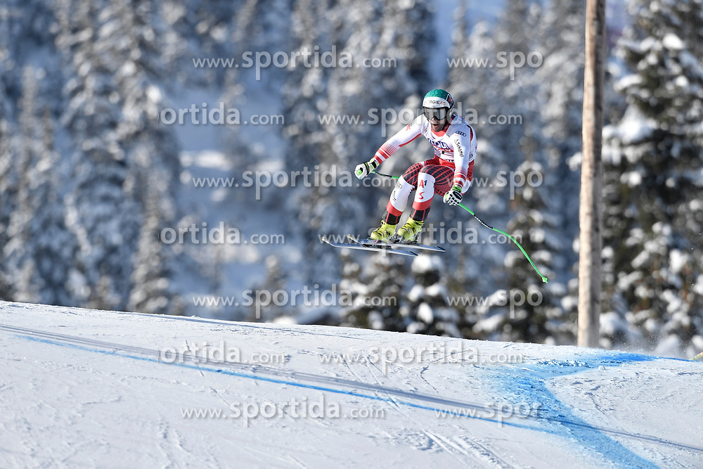 07.03.2020, Kvitfjell, NOR, FIS Weltcup Ski Alpin, Abfahrt, Herren, im Bild Vincent Kriechmayr (AUT) // Vincent Kriechmayr of Austria in action during his run in the men's Downhill of FIS ski alpine world cup. Kvitfjell, Norway on 2020/03/07. EXPA Pictures © 2020, PhotoCredit: EXPA/ Jonas Ericsson