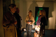 Sigrid Wilkinson; Pia Getty; , Private view: Atlantis by Gayle Chong Kwan, Hosted by Pia Getty, Isabella Macpherson & Sigrid Wilkinson . 29 Thurloe Place, SW7. London. 11 Nov emebr 2008<br />