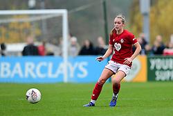 Flo Allen of Bristol City - Mandatory by-line: Ryan Hiscott/JMP - 24/11/2019 - FOOTBALL - Stoke Gifford Stadium - Bristol, England - Bristol City Women v Manchester City Women - Barclays FA Women's Super League