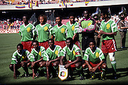 African countries - team pics