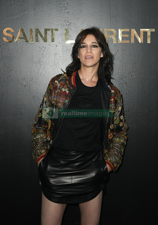 Pfw Saint Laurent Photocall Realtime Images