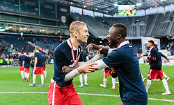 15.05.2016, Red Bull Arena, Salzburg, AUT, 1. FBL, FC Red Bull Salzburg, Meisterfeier, im Bild Konrad Laimer (Red Bull Salzburg), Naby Keita (Red Bull Salzburg) // Konrad Laimer (Red Bull Salzburg), Naby Keita (Red Bull Salzburg) during the FC Red Bull Salzburg Champions Party of Austrian Football Bundesliga at the Red Bull Arena, Salzburg, Austria on 2016/05/15. EXPA Pictures © 2016, PhotoCredit: EXPA/ JFK