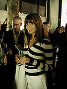 Lisa B and Anton Bilton, Andre Putman exhibition, Christopher Ford Gallery, Burnhsall St. 25 September 2003. © Copyright Photograph by Dafydd Jones 66 Stockwell Park Rd. London SW9 0DA Tel 020 7733 0108 www.dafjones.com