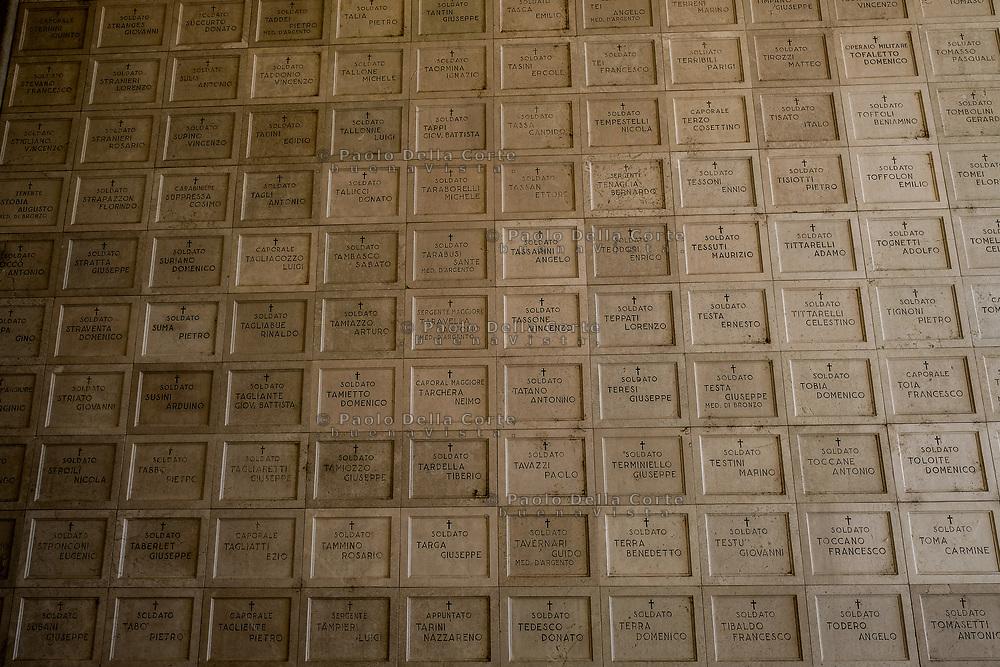 an Biagio di Callalta - Il Sacrario Militare di Fagar&egrave; della Battaglia &egrave; uno dei principali monumenti funebri dedicati ai caduti della Grande Guerra.<br /> La struttura si trova poco distante dalla riva destra del Piave nel comune di San Biagio di Callalta e raccoglie i corpi di 10.255 soldati
