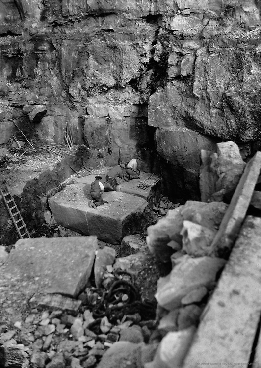Quarries, Portland, England, 1932