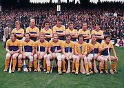 The Wexford team before the All Ireland Senior Hurling Final, Cork v Wexford in Croke Park on the 4th September 1977. Cork 1-17 Wexford 3-8.<br />
