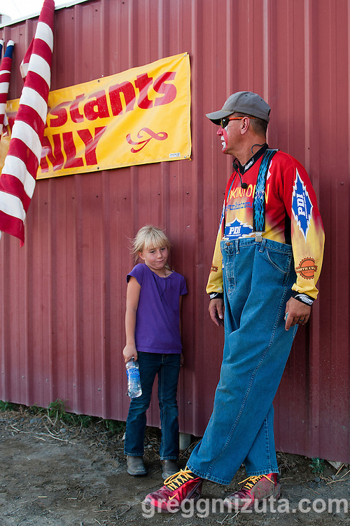 "Frankie ""Punkintown"" Smith 4th of July Rodeo, Vale Rodeo Arena, Vale, Oregon, July 3, 2015."