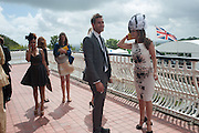PREEYA KALIDAS; ; OLIVER JACKSON-COHEN; KELLY BROOK, Ladies Day, Glorious Goodwood. Goodwood. August 2, 2012