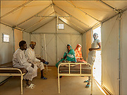 NIGER,, the refugee camp near the Agadez city, the mediacal tent