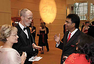 (left to right) Shirley & Pat Connelly, from Beavercreek talk to Ketan & Kalp Shah, from Centerville at the 2007 Wellness Connection Red Dress Gala, at the Schuster Performing Arts Center in Dayton, Saturday night, May 5th.