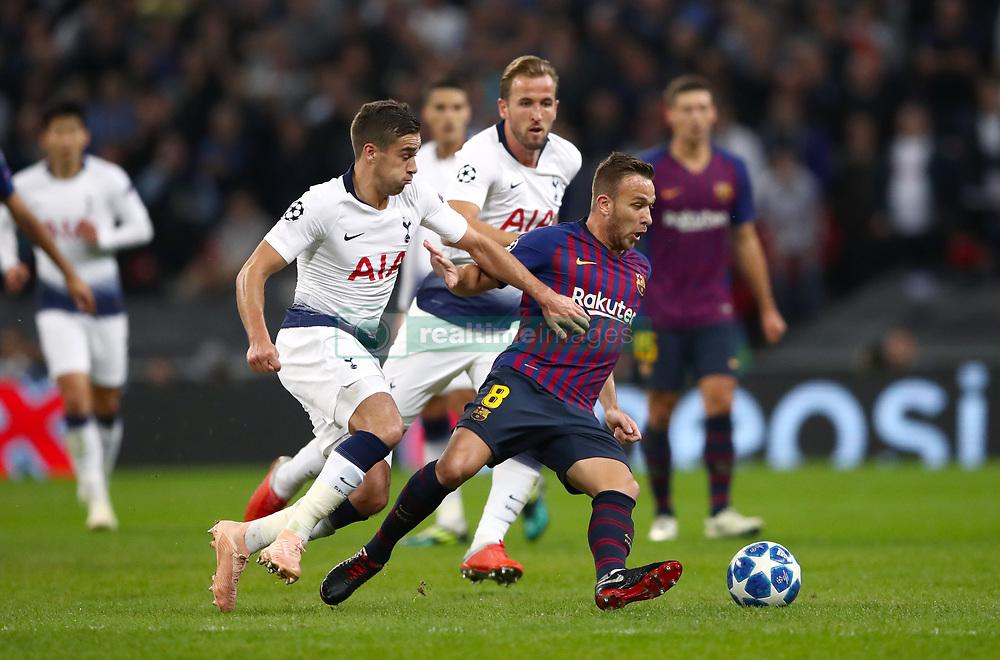 صور مباراة : توتنهام - برشلونة 2-4 ( 03-10-2018 )  38928743