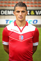 Yaya Boumediene pictured during the 2015-2016 season photo shoot of Belgian first league soccer team Royal Mouscron Peruwelz, Thursday 16 July 2015 in Mouscron.