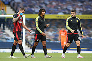 Bournemouth  players head to the dressing room after relegation was confirmed during the Premier League match between Everton and Bournemouth at Goodison Park, Liverpool, England on 26 July 2020.