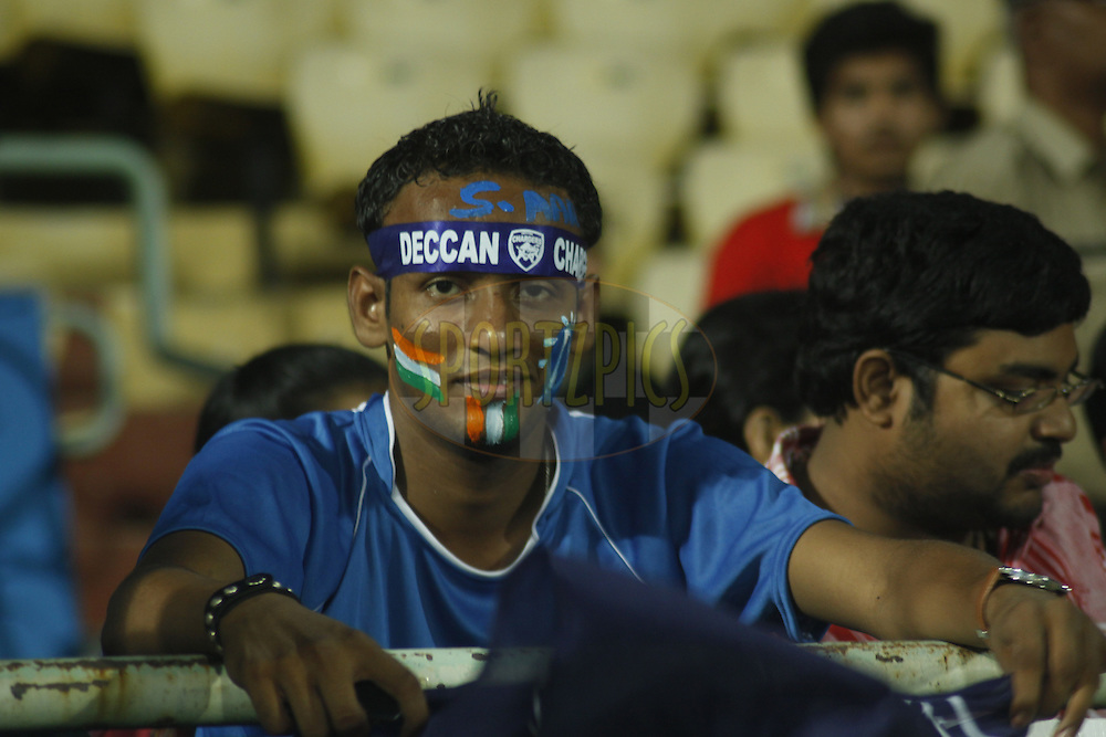 during match 6 of the Indian Premier League ( IPL) 2012  between The Deccan Chargers and the Chennai Superkings held at the ACA-VDCA Stadium, Visakhapatnam the 7th April 2012..Photo by Sandeep Shetty/IPL/SPORTZPICS