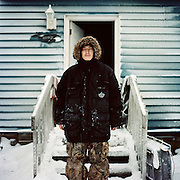 "I grew up here all my life. You are going to get a lot of good pictures. —Levi Rexford is Inupiaq from Kaktovik, Alaska. Kaktovik is located on Barter Island in the North Slope region of Alaska and has a population of about 250 residents.  Kaktovik (Qaaktuġvik in Inupiaq) translates to ""Seining Place"" because it is a traditional place to seine fish. It also was a traditional bartering area for Inupiat from Alaska and Inuit from Canada to come to trade."