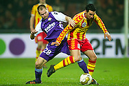 Onderwerp/Subject: Go Ahead Eagles - Willem II - Jupiler League<br /> Reklame:  <br /> Club/Team/Country: Go Ahead Eagles - Willem II<br /> Seizoen/Season: 2011/2012<br /> FOTO/PHOTO: Go Ahead Eagles's Resit SCHUURMAN (R) in duel with Willem II's Istvan BAKX (L). (Photo by PICS UNITED)<br /> <br /> Trefwoorden/Keywords: <br /> #04 $94 ±1324459613958<br /> Photo- & Copyrights © PICS UNITED <br /> P.O. Box 7164 - 5605 BE  EINDHOVEN (THE NETHERLANDS) <br /> Phone +31 (0)40 296 28 00 <br /> Fax +31 (0) 40 248 47 43 <br /> http://www.pics-united.com <br /> e-mail : sales@pics-united.com (If you would like to raise any issues regarding any aspects of products / service of PICS UNITED) or <br /> e-mail : sales@pics-united.com   <br /> <br /> ATTENTIE: <br /> Publicatie ook bij aanbieding door derden is slechts toegestaan na verkregen toestemming van Pics United. <br /> VOLLEDIGE NAAMSVERMELDING IS VERPLICHT! (© PICS UNITED/Naam Fotograaf, zie veld 4 van de bestandsinfo 'credits') <br /> ATTENTION:  <br /> © Pics United. Reproduction/publication of this photo by any parties is only permitted after authorisation is sought and obtained from  PICS UNITED- THE NETHERLANDS