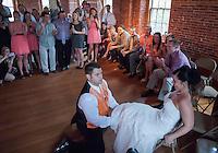 Jill and Robby Caristi Wedding at the Belknap Mill  May 11, 2013.