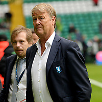 19/08/15 UEFA CHAMPIONS LEAGUE PLAY-OFF 1ST LEG<br /> CELTIC V MALMO<br /> CELTIC PARK - GLASGOW<br /> Malmo manager Age Hareide ahead of kick-off.
