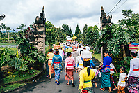 A village ceremony in northern Bali, Indonesia.
