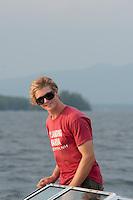 Winnipesaukee Yacht Club J80 race series on Thursday, August 9, 2012.