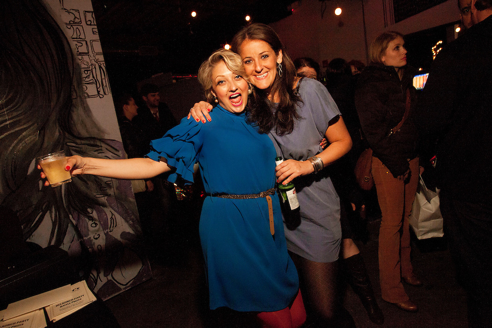 Glennis McCarthy, Kara Klenk - G.L.O.C. [Gorgeous Ladies of Comedy] Re-Launch Party - Littlefield - Brroklyn, New York - May 2, 2012