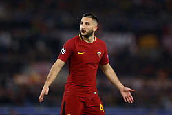 October 31, 2017 - Rome, Italy - Kostas Manolas of Roma during the UEFA Champions League group C match between AS Roma and Chelsea FC at Stadio Olimpico on October 31, 2017 in Rome, Italy. (Credit Image: © Matteo Ciambelli/NurPhoto via ZUMA Press)