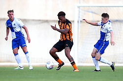 Abel Hernandez of Hull City controls the ball - Mandatory by-line: Robbie Stephenson/JMP - 18/07/2017 - FOOTBALL - Estadio da Nora - Albufeira,  - Hull City v Bristol Rovers - Pre-season friendly