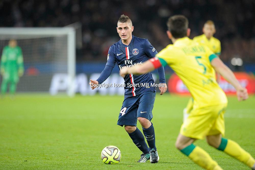 Marco Verratti - 06.12.2014 - PSG / Nantes - 17eme journee de Ligue 1<br />Photo : Andre Ferreira / Icon Sport
