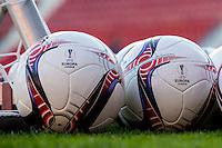 ALKMAAR - 19-10-2016, training persconferentie AZ, AFAS Stadion, bal.