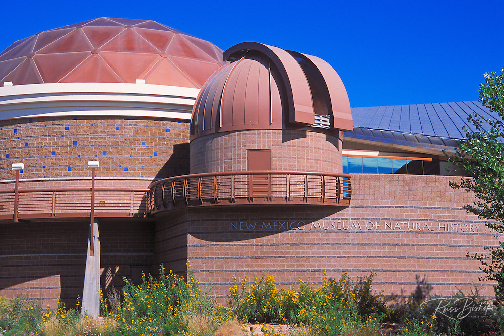 The New Mexico Museum of Natural History, Albuquerque, New Mexico