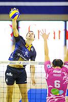 Nikola Gjorgiev - 20.12.2014 - Paris Volley / Sete - 12eme journee de Ligue A<br /> Photo : Andre Ferreira / Icon Sport