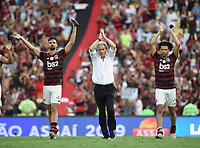 2019-11-03 Rio de Janeiro, Brazil soccer match between the teams of Flamengo and Corinthians , validated by the Brazilian Football Championship ,Photo by André Durão / Swe Press Photo