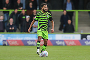 Forest Green Rovers Dominic Bernard(3) on the balle during the EFL Sky Bet League 2 match between Forest Green Rovers and Crawley Town at the New Lawn, Forest Green, United Kingdom on 5 October 2019.
