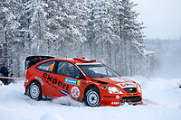 MOTORSPORT - WRC 2007 - SWEDISH RALLY - KARLSTAD 08/02 TO 11/02/07 <br /> HENNING SOLBERG (NOR) - CATO MENKERUD / FORD FOCUS RS STOBART M-SPORT - ACTIONNorway only