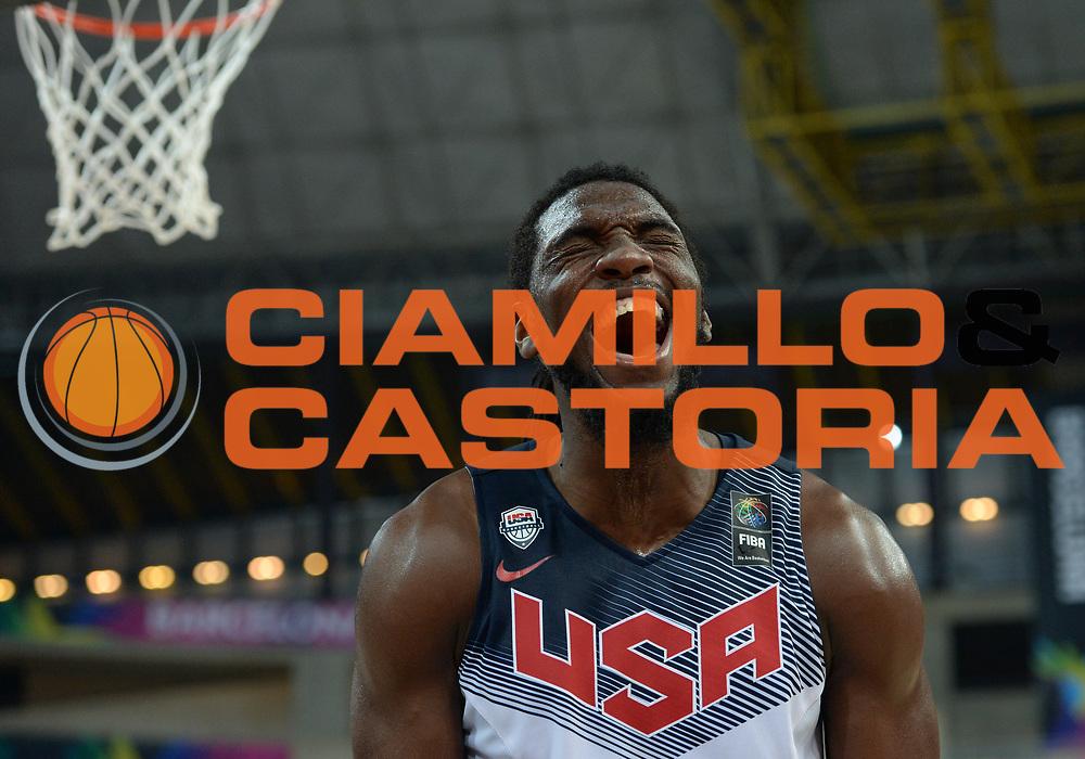 DESCRIZIONE : Barcellona Barcelona FIBA Basketball World Cup Spain 2014 Semi-Finals USA Lituania USA Lithuania<br /> GIOCATORE : Kenneth FARIED<br /> CATEGORIA : <br /> SQUADRA : USA<br /> EVENTO : FIBA Basketball World Cup Spain 2014<br /> GARA :  USA Lituania USA Lithuania<br /> DATA : 11/09/2014<br /> SPORT : Pallacanestro <br /> AUTORE : Agenzia Ciamillo-Castoria<br /> Galleria : FIBA Basketball World Cup Spain 2014<br /> Fotonotizia : Barcellona Barcelona FIBA Basketball World Cup Spain 2014 Semi-Finals USA Lituania USA Lithuania